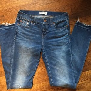 Madewell Alley Straight Jeans Size 26